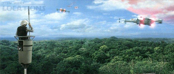 Tikal Guatemala Star Wars Imagen de Star Wars en Tikal