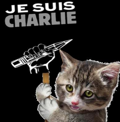 GatoJe suis Charlie
