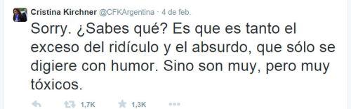 CFK tweet 2