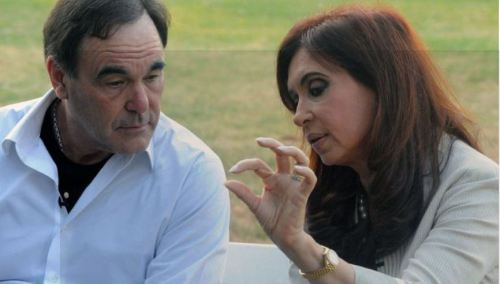 CFK con Oliver Stone