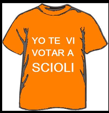 yo te vi votar a Scioli