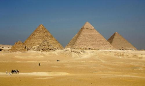 EGY: The Pyramids at Giza
